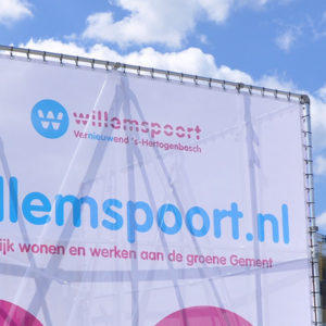 Bouwbord Willemspoort