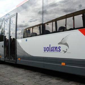 Autobelettering Volans Stadsbus
