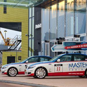 master-it autobelettering met dakbord