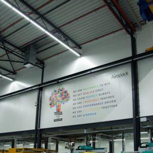 Airopack signing wand fabriek