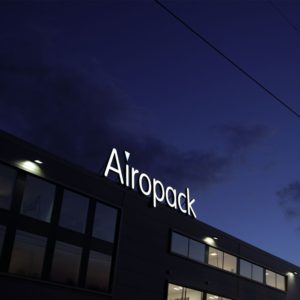 Airopack lichtreclame