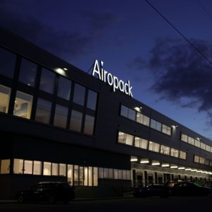Airopack signing dakreclame avond