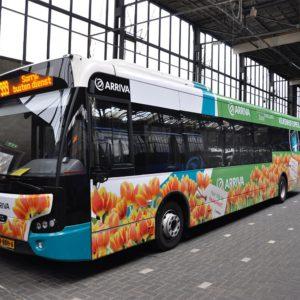 Autobelettering Bus Arriva Keukenhof