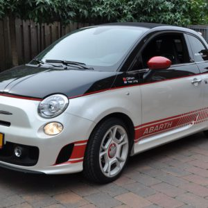 Autobelettering Fiat 500 striping