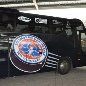 Autobelettering Kemphanen Tourbus