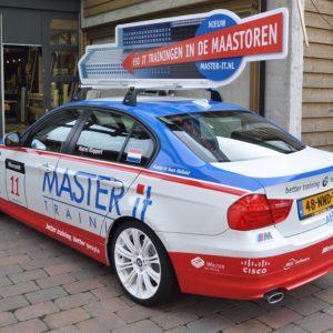 Autobelettering Master-it met Dakbord