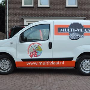Autobelettering Multivlaai