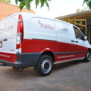 Autobelettering PublicaMenuCards