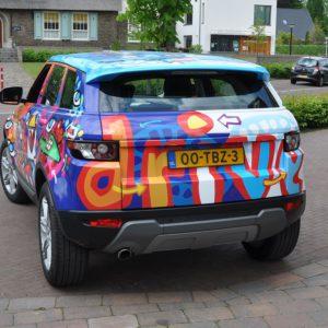 Carwrap Artcar Alphabet Carlease