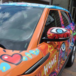 Carwrap Artcar Alphabet