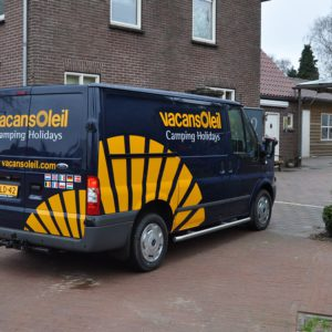 vacansoleil autobelettering Ford Transit