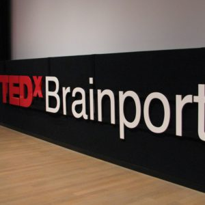 TEDx Brainport Podium aankleding