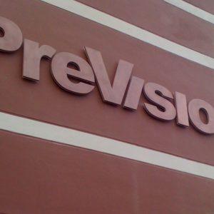 Prevision lichtreclame