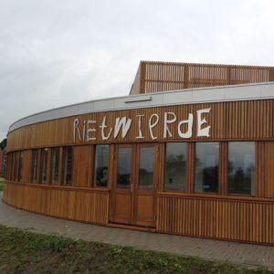 Geveltekst Rietwierde Groningen