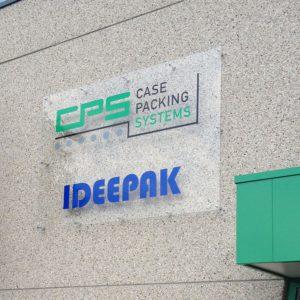 Acrylaat gevelbord CPS