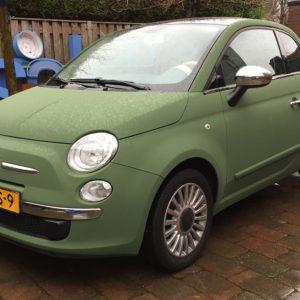 Carwrap Fiat 500