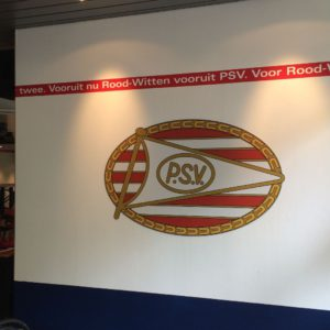 Wanddecoratie supportershome PSV