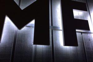 Lichtreclame MFC Expeditie met LED