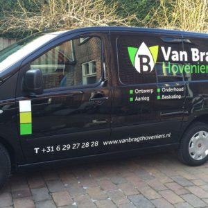Autobelettering Van Bragt