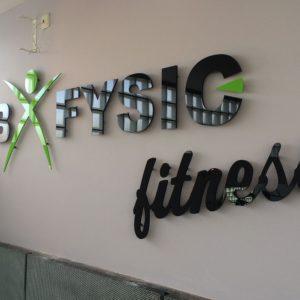Acrylaat logo B-Fysic