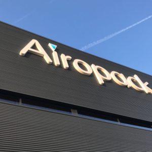 Airopack Gevelreclame