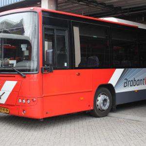 Autobelettering Brabantliner Stadsbus