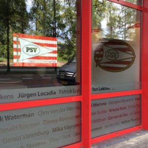 Raamfolie Eindhoven PSV
