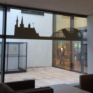 Raamdecoratie verzorgingstehuis Eindhoven