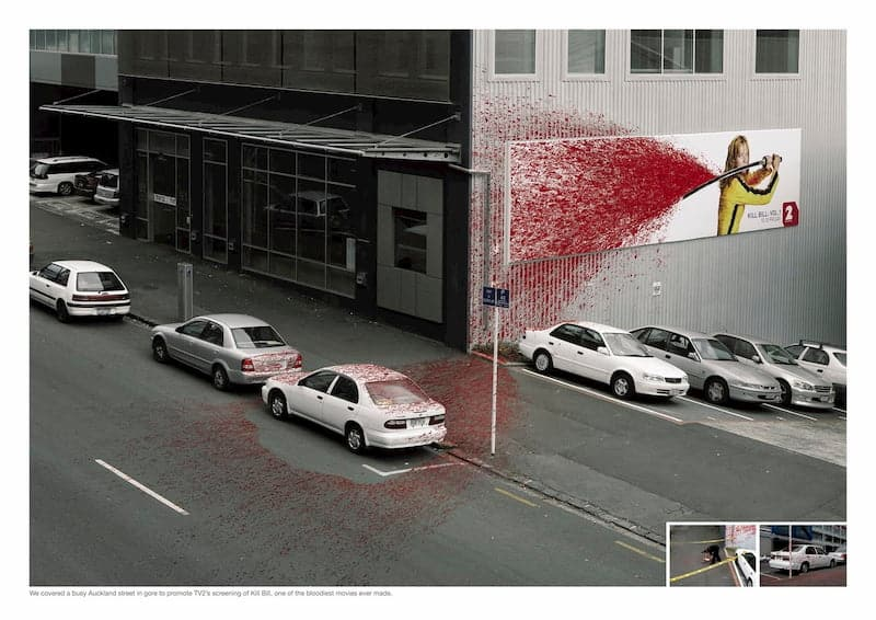 Bloedspetters kill bill in Auckland