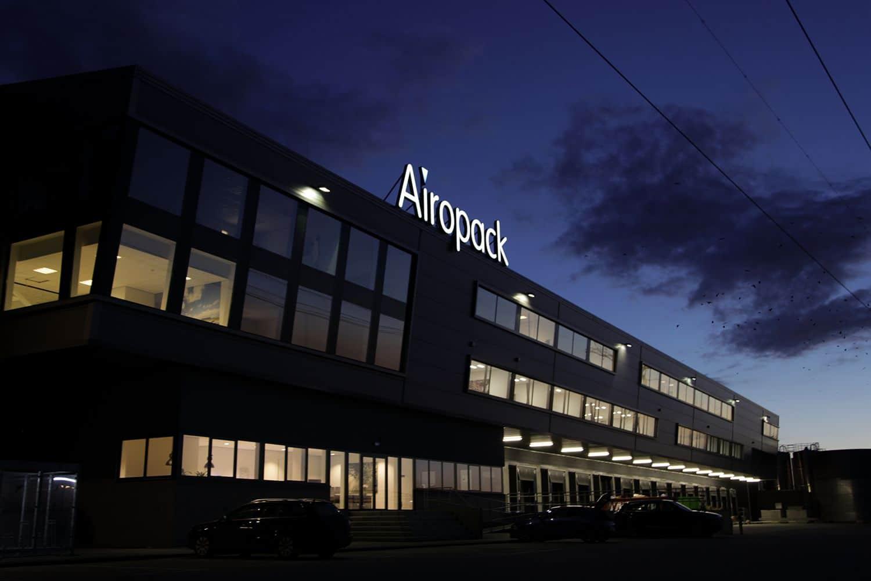 airopack lichtgevende gevelletters