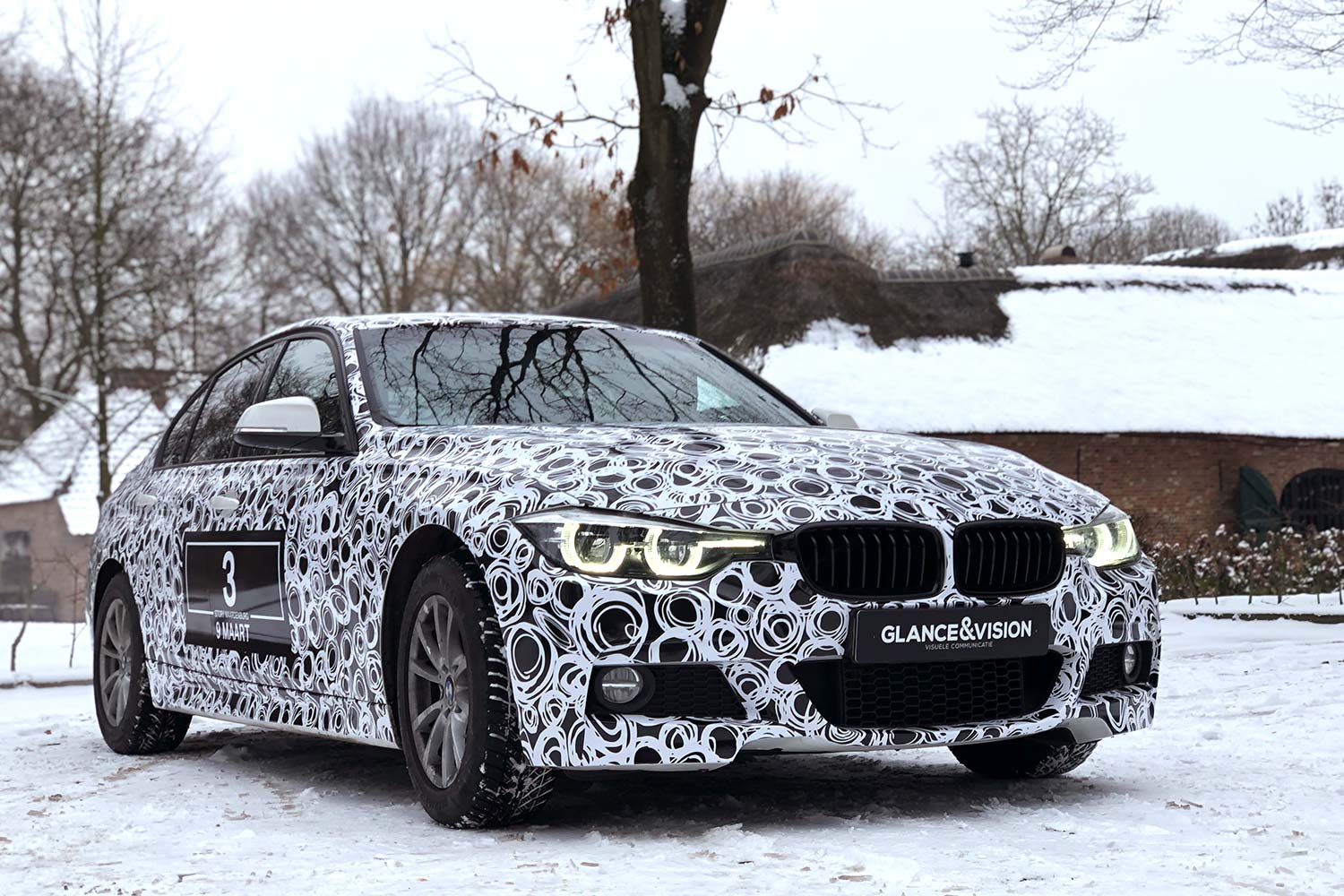 Carwarp BMW spywrap Glance & Vision