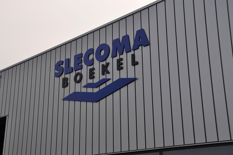 Gevelreclame Slecoma