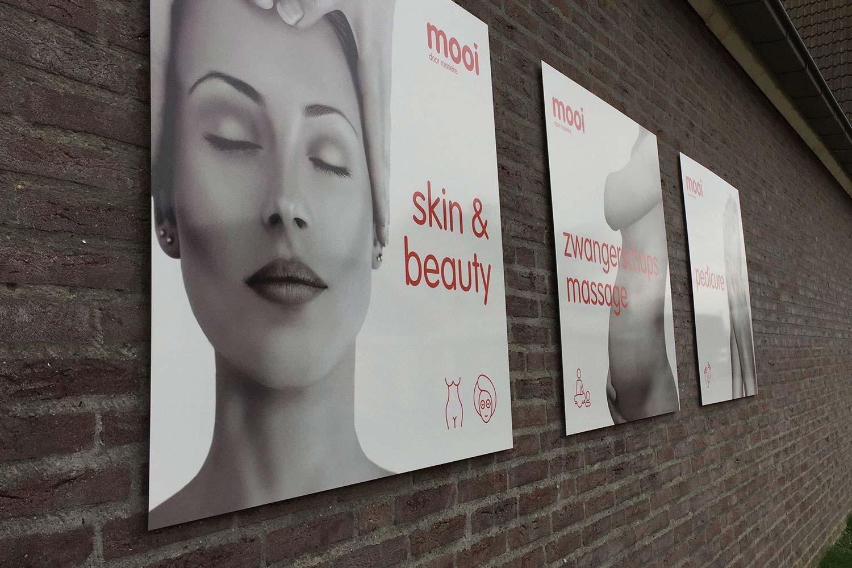 skin en beauty gevelreclame
