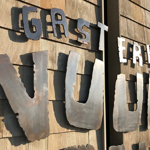 metalen letters
