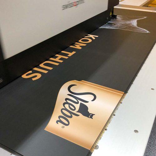 sheba print op plaatmateriaal
