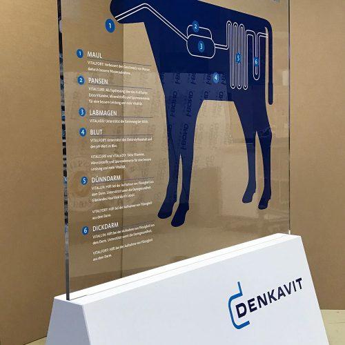 Kunststof display denkavit