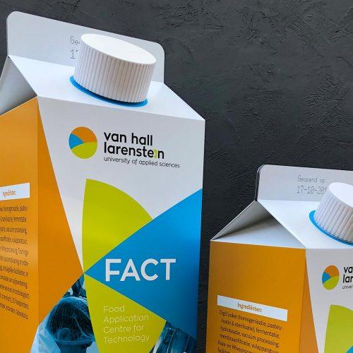 Melkpak als reclamemiddel