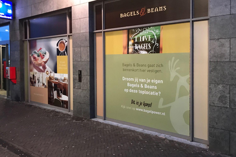 Raamdecoratie Bagels & Beans_16