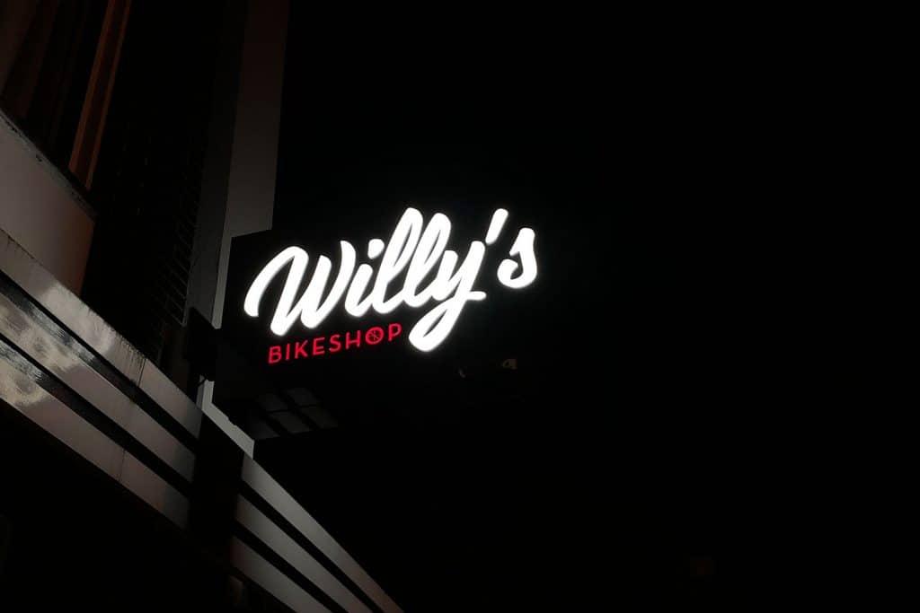 gevelbord willy's