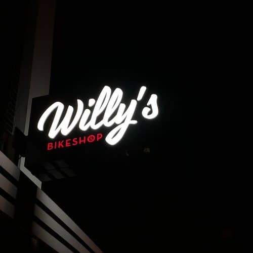 gevelbord willy's