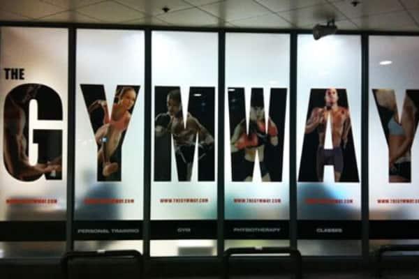 raamdecoratie gymway