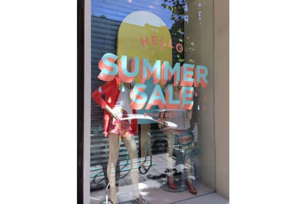 raamsticker summer sale