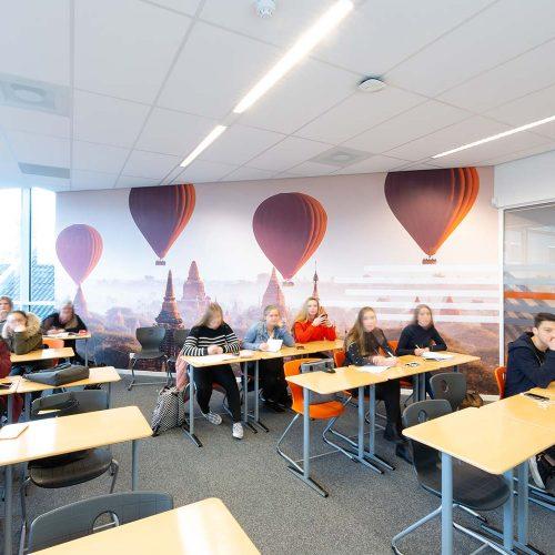 wanddecoratie luchtballonnen