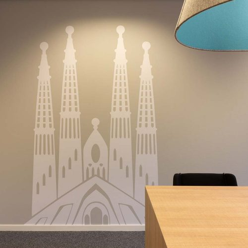 wanddecoratie kerk
