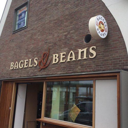 Gevelreclame Bagels & Beans_9
