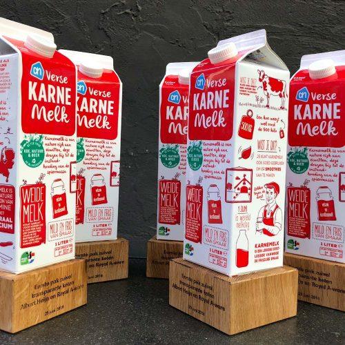 productpresentatie karne melk