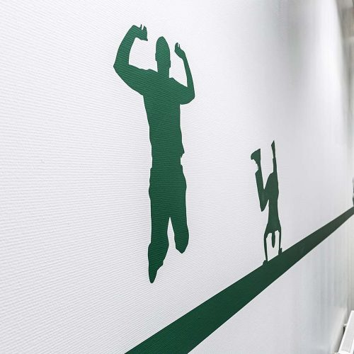 Wand opdruk