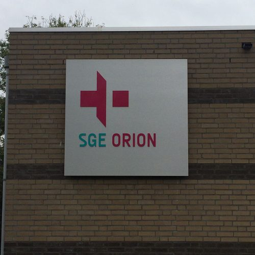 gevelreclame sge orion