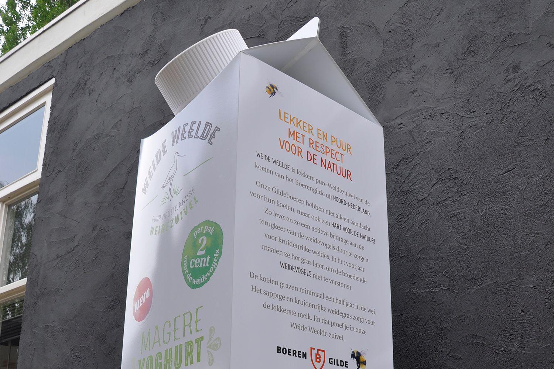 productpresentatie weide wilde melk pak