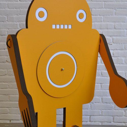 Project ted figuur geel karton